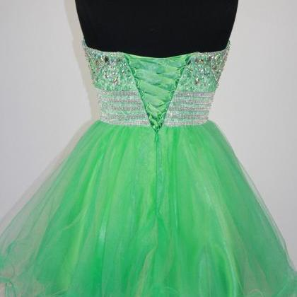 Amazing Green Homecoming Dresses Or..