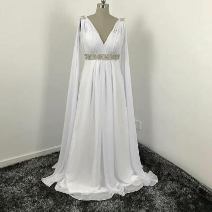 2019 Chiffon Beach Wedding Dresses ..