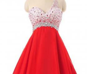 Sparkly Red Homecomi..
