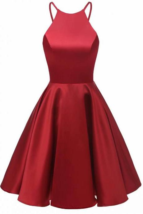2019 Mini Prom Gowns Short Burgundy Homecoming Dresses Prom Party Evening Cocktail Gown Bridesmaid Dresses